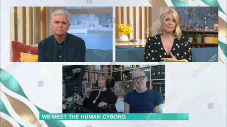 Phillip Schofield, Holly Willoughby, Francis Scott-Morgan