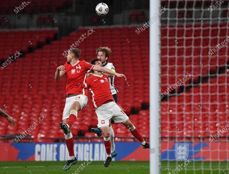 Editorial image of England v Poland, FIFA World Cup Qualifying football match, Wembley Stadium, London, UK - 31 Mar 2021