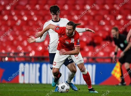 Editorial picture of England v Poland, FIFA World Cup Qualifying football match, Wembley Stadium, London, UK - 31 Mar 2021