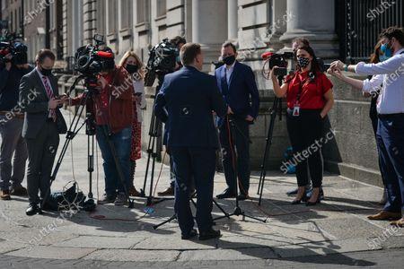 Editorial photo of Irish Politics, Dublin, Ireland - 30 Mar 2021