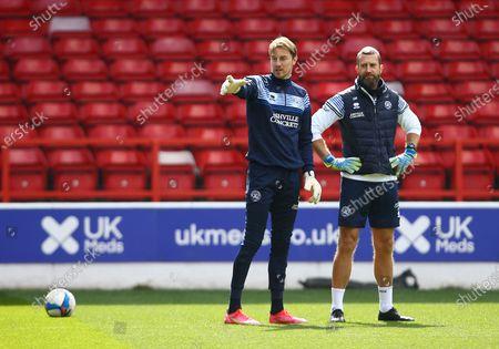 QPR goalkeeper Joe Lumley