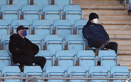 Stock Image of England Head Coach Eddie Jones watches on.