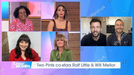 Charlene White, Frankie Bridge, Jane Moore, Coleen Nolan, Ralf Little, Will Mellor