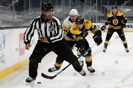 Editorial image of Penguins Bruins Hockey, Boston, United States - 01 Apr 2021