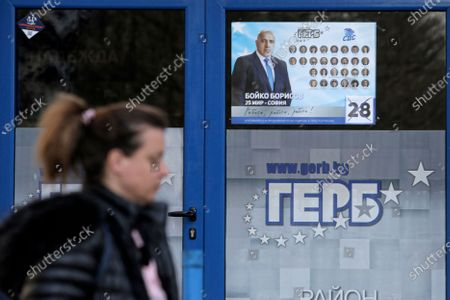 Editorial picture of Elections, Sofia, Bulgaria - 31 Mar 2021