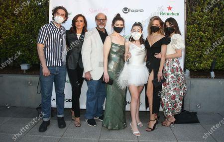 Stock Picture of Danny Deferrari, Polly Draper, Fred Melamed, Emma Seligman, Dianna Agron, Molly Gordon, Rachel Sennott