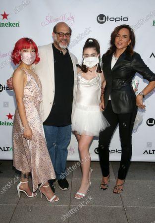 Los Angeles, CA -April 1 - Michelle Li, Rachel Sennott, Polly Draper, Fred Melamed