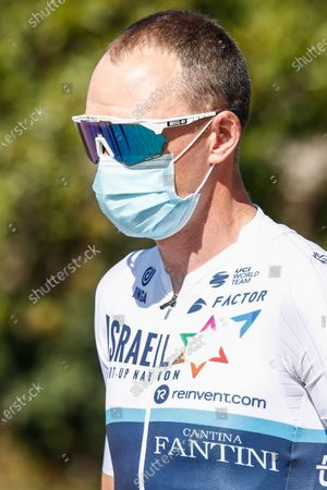 Stock Image of 181 Chris Froome from Great Britain of Israel Start Up Nation portrait, during the 100th Volta Ciclista a Catalunya 2021, Stage 3 from Canal Olimpic de Barcelona to Valter 2000. On March 24, 2021 in Barcelona, Spain.