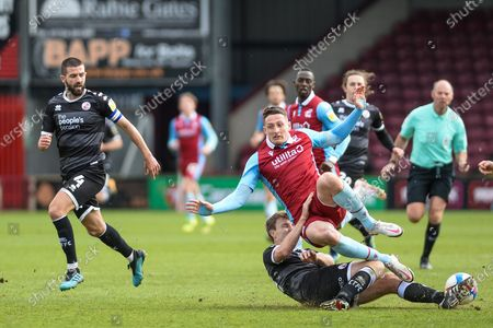 Editorial picture of Scunthorpe United v Crawley Town, EFL Sky Bet League 2, 02GOAL 0-42021 - 02 Apr 2021