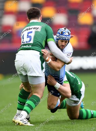 Editorial picture of London Irish v Cardiff Blues - European Rugby Challenge Cup - 02 Apr 2021