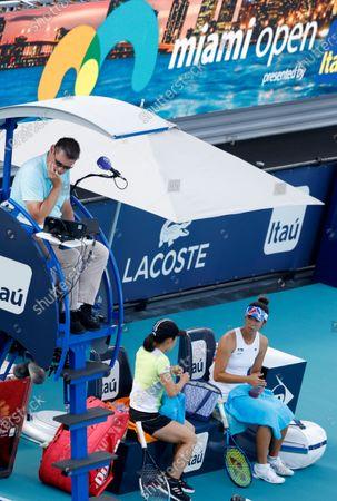 Editorial photo of Miami Open tennis  tournament, USA - 02 Apr 2021