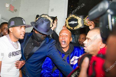 Editorial picture of Celebrity Championship Boxing at Sugar Factory, Atlanta, Georgia, USA - 02 Apr 2021