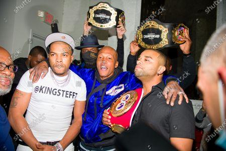 Editorial image of Celebrity Championship Boxing at Sugar Factory, Atlanta, Georgia, USA - 02 Apr 2021