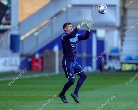 Stock Photo of QPRs Joe Walsh during the Sky Bet Championship match between Queens Park Rangers and Coventry City at Kiyan Prince Foundation Stadium, London, Engalnd on 2nd April 2021.