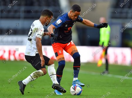 Editorial image of Derby County v Luton Town - Sky Bet Championship, United Kingdom - 02 Apr 2021