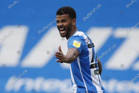Portrait of Huddersfield Town's Fraizer Campbell during the EFL Sky Bet Championship match between Huddersfield Town and Brentford at the John Smiths Stadium, Huddersfield