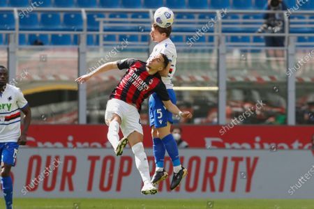 Editorial picture of Soccer Serie A, Milan, Italy - 03 Apr 2021