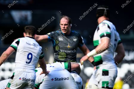Editorial photo of European Rugby Challenge Cup Round of 16, Liberty Stadium, Swansea, Wales - 03 Apr 2021