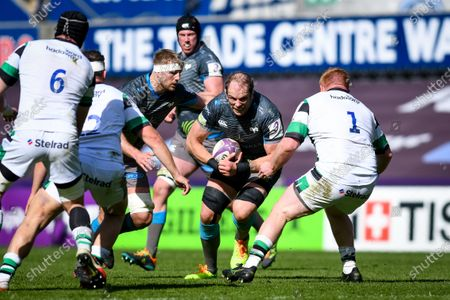 Editorial picture of European Rugby Challenge Cup Round of 16, Liberty Stadium, Swansea, Wales - 03 Apr 2021