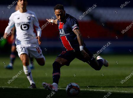 Editorial picture of PSG vs Lille OSC, Paris, France - 03 Apr 2021