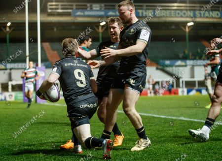 Editorial picture of European Rugby Challenge Cup Round of 16, Welford Road, Leicester, England - 03 Apr 2021