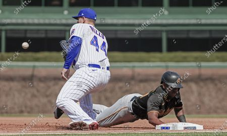 Editorial image of Pittsburgh Pirates at Chicago Cubs, USA - 03 Apr 2021