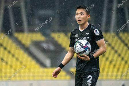 Editorial photo of Seongnam FC v Ulsan Hyundai, 2021 K League 1, football, Tancheon Stadium, Seongnam, South Korea - 03 Apr 2021