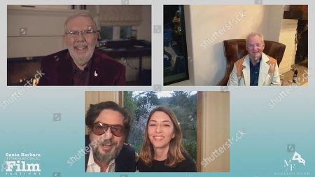 Stock Picture of Leonard Maltin, Bill Murray, Roman Coppola and Sofia Coppola