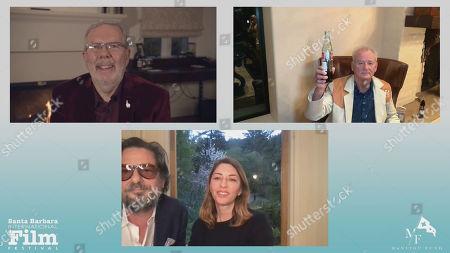 Leonard Maltin, Bill Murray, Roman Coppola and Sofia Coppola