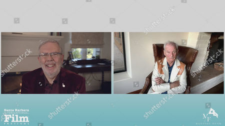 Stock Image of Leonard Maltin and Bill Murray