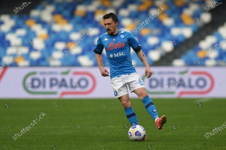 Mario Rui of SSC Napoli during the Serie A match between SSC Napoli and FC Crotone at Stadio Diego Armando Maradona Naples Italy on 3 April 2021.