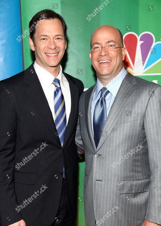 Jeff Gaspin and Jeff Zucker