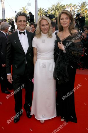 Lawrence Bender, Valerie Plame Wilson and Queen Noor of Jordan