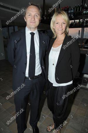 James Purnell and Elisabeth Murdoch