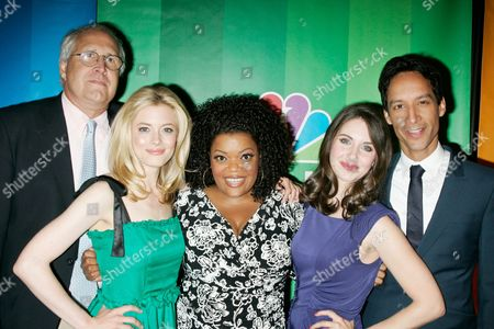 Cast of 'Community' - Chevy Chase, Yvette Nicole Brown, Gillian Jacobs, Alison Brie and Danny Pudi