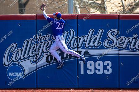 Editorial image of Texas Kansas Baseball, Lawrence, United States - 03 Apr 2021