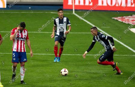 Editorial image of Rayados de Monterrey vs San Luis, Mexico - 03 Apr 2021