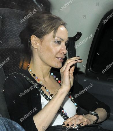 Editorial picture of Rupert Everett and Tara Palmer-Tompkinson out at the Ivy Club, London, Britain - 17 May 2010