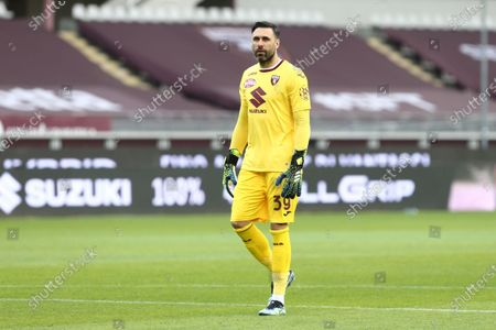 Salvatore Sirigu of Torino FC during the Serie A football match between Torino FC and Juventus FC at Olympic Grande Torino Stadium on April 03, 2021 in Turin, Italy. Final result: 2-2