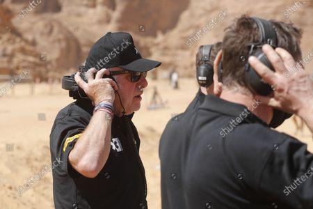 Stock Picture of David Richards, Chairman, Prodrive / Chairman, Motorsport UK  during the  Extreme E Desert X Prix
