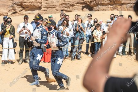 Catie Munnings (GBR)/Timmy Hansen (SWE), Andretti United Extreme E during the 2021 Extreme E Desert X Prix