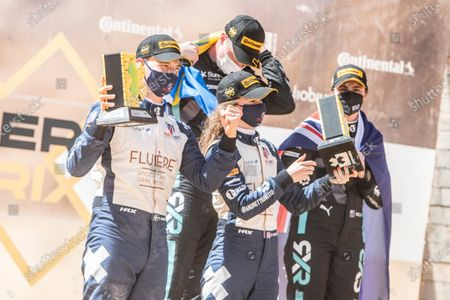 Catie Munnings (GBR)/Timmy Hansen (SWE), Andretti United Extreme E Molly Taylor (AUS)/Johan Kristoffersson (SWE), Rosberg X Racing during the 2021 Extreme E Desert X Prix