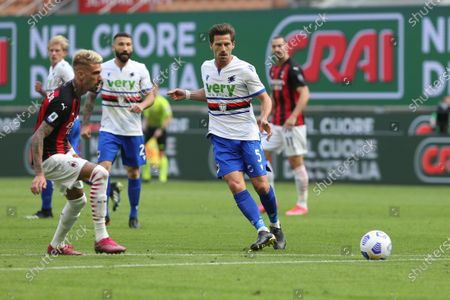 Editorial image of AC Milan v UC Sampdoria - Serie A, Italy - 03 Apr 2021