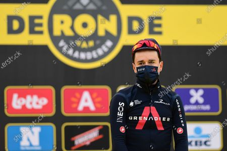Editorial image of Tour of Flanders 2021. Antwerp, Belgium - 04 Apr 2021