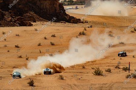 Editorial image of 2021 XE Desert X Prix, Riyadh Street Circuit, Diriyah, Saudi Arabia - 04 Apr 2021
