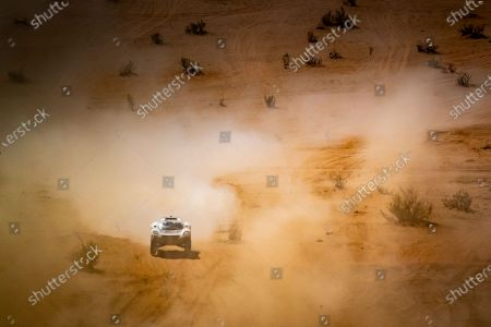 Stock Picture of Catie Munnings (GBR)/Timmy Hansen (SWE), Andretti United Extreme E during the 2021 Extreme E Desert X Prix