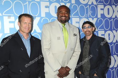 Mark Valley, Chi McBride and Jackie Earle Haley