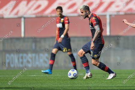 Editorial picture of Genoa CFC vs ACF Fiorentina, Serie A, Football, Luigi Ferraris stadium, Genova, Italy - 03 Apr 2021