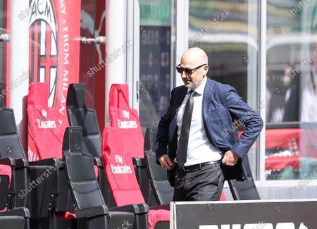 Ivan Gazidis of AC Milan seen during the Serie A 2020/21 football match between AC Milan and UC Sampdoria at the San Siro Stadium. (Final score; AC Milan 1:1 UC Sampdoria)