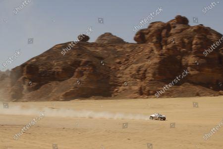 Editorial photo of XE Desert X Prix, Riyadh Street Circuit, Diriyah, Saudi Arabia - 04 Apr 2021